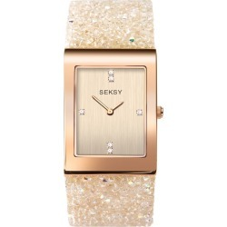 Seksy Rocks® Rose Gold Plated Bracelet Watch found on Bargain Bro UK from H Samuel
