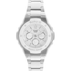 Casio Baby-G Ladies' Stainless Steel Bracelet Watch found on Bargain Bro UK from H Samuel