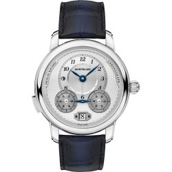 Montblanc Nicolas Rieussec Men's Black Leather Strap Watch found on MODAPINS from Ernest Jones UK for USD $8093.80