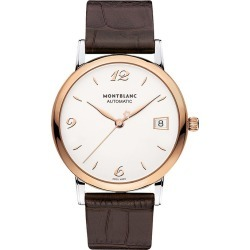 Montblanc Star Classique Men's Brown Leather Strap Watch found on MODAPINS from Ernest Jones UK for USD $2759.25