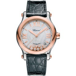 Chopard Happy Sport Ladies' Two Colour Strap Watch found on MODAPINS from Ernest Jones UK for USD $10013.23