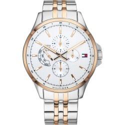 Tommy Hilfiger Men's Two Tone Bracelet Watch found on Bargain Bro UK from H Samuel