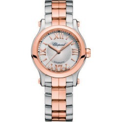 Chopard Happy Sport Ladies' Two Colour Bracelet Watch found on MODAPINS from Ernest Jones UK for USD $13977.86