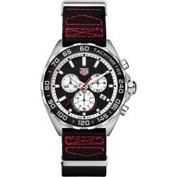 TAG Heuer Formula 1 Men's Chronograph Black Strap Watch found on MODAPINS from Ernest Jones UK for USD $1397.79