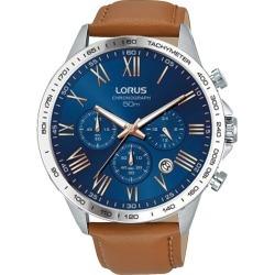 Lorus Men's Tan Leather Strap Watch found on Bargain Bro UK from H Samuel