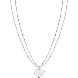 Thomas Sabo Sterling Silver Love Engravable Heart Necklace