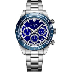 Rotary Men's Stainless Steel Bracelet Chronograph Watch found on Bargain Bro from H Samuel for £110