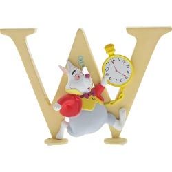 Disney Enchanting Alphabet White Rabbit Ornament - W found on Bargain Bro UK from H Samuel