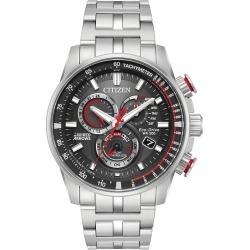 Citizen Red Arrows Men's Bracelet Watch found on Bargain Bro UK from H Samuel