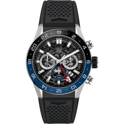 TAG Heuer Carrera Men's Black Rubber Strap Watch found on MODAPINS from Ernest Jones UK for USD $6099.43