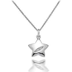 Hot Diamonds Silver Shooting Star Pendant