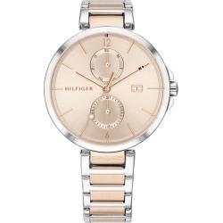 Tommy Hilfiger Angela Ladies' Two Tone Bracelet Watch found on Bargain Bro UK from Ernest Jones UK