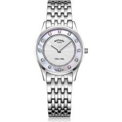 Rotary Exclusive Ultra Slim Ladies' Bracelet Watch found on Bargain Bro UK from H Samuel