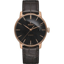 Rado Men's Rose Gold-Plated Brown Strap Watch found on MODAPINS from Ernest Jones UK for USD $1240.69