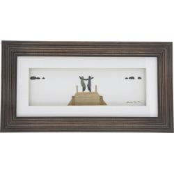 Sharon Nowland 'Anywhere with You' Wood Framed Picture found on Bargain Bro UK from H Samuel