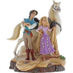 Disney Traditions Tangled Live The Dream Figurine found on Bargain Bro from H Samuel for £65
