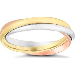 9ct Gold 3 Colour Russian Wedding Ring found on MODAPINS from H Samuel for USD $186.62