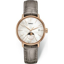Rado Ladies' Coupole Moonphase Pearl Strap Watch found on MODAPINS from Ernest Jones UK for USD $1345.17