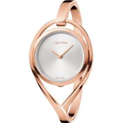 Calvin Klein Light Ladies' Rose Gold-Plated Bracelet Watch found on Bargain Bro UK from H Samuel