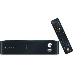 Receptor Digital Oi Tv Livre HD Elsys ETRS37 com Pacote Livre 5 Canais HD - Bivolt