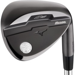 Pre-Owned Mizuno Golf S18 Gun Metal Wedge 56* 14* Bounce Wedge Sand Wedge [True Temper Dynamic Gold Steel] *Value*
