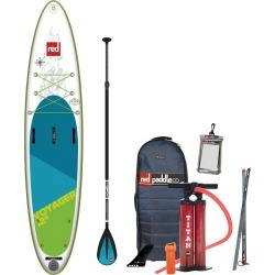 2019 Red Paddle Co. 12'6 VOYAGER Inflatable SUP with Alloy Nylon 3 Part Paddle found on Bargain Bro India from CleverTraining for $1477.30