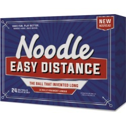 Noodle Easy Distance Golf Balls 24-Pack White