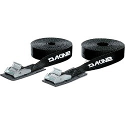 Dakine Tie Down Straps 12' Black found on Bargain Bro India from CleverTraining for $19.95