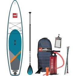 2019 Red Paddle Co. 12'6 SPORT Inflatable SUP with Alloy Nylon 3 Part Paddle found on Bargain Bro India from CleverTraining for $1477.30