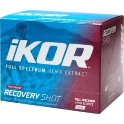 IKOR 22mg Recovery Shot Hemp Extract 2oz Single Bottle/12 Pack