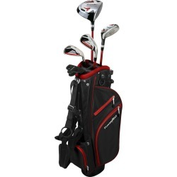 Powerbilt Golf Junior Red Complete Set With Bag[Ages 12+]