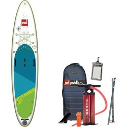 Red Paddle Co. 2019 Voyager Inflatable Stand Up Paddleboard 12'6