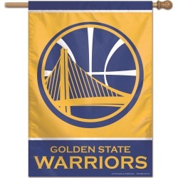 WinCraft- Vertical NBA Team Flag Golden State Warriors