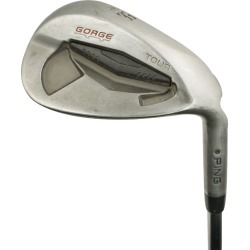 Pre-Owned Ping Golf Tour Gorge Wedge 58* SS Wedge Lob Wedge [True Temper Dynamic Gold Spinner Steel] Silver Dot *Very Go