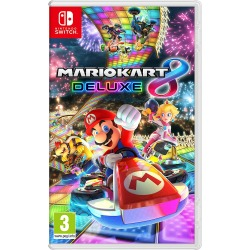 Mario Kart 8 Deluxe Video Game for Nintendo Switch System Region Free