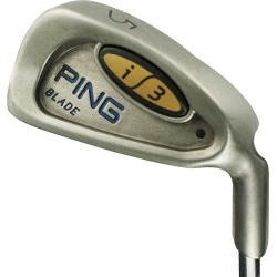 Pre-Owned Ping Golf I3 Blade Iron Set Steel Mrh 3-Pw Stiff Black Dot [Ping Cushin Z-Z 65 Steel] *Very Good* found on Bargain Bro India from Rock Bottom Golf for $185.00