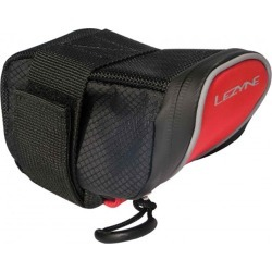 Lezyne Micro Caddy Saddle Bag - Color: Red/Black Size: Medium - CT found on Bargain Bro Philippines from Jack Rabbit for $24.99