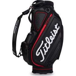 Titleist Golf- Jet Black Collection Tour Cart Bag found on Bargain Bro from Rock Bottom Golf for USD $417.96
