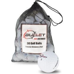Bullet .444 Distance Golf Balls *30-Ball* White