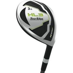 Pre-Owned Tour Edge Golf Hot Launch HL3 Fairway 15* Stiff #3 Fairway [Tour Edge Stock Graphite] *Value*
