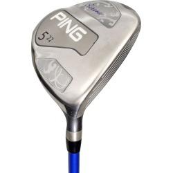 Pre-Owned Ping Golf Serene Fairway Wood Graphite LLH 18* Ladies #3 Fairway [Ping Ult 210 Graphite] *Value* LEFT HAND