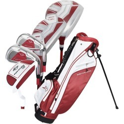 Ray Cook Golf Manta Ray 8 Piece Junior Set With Bag (Ages 9-12) Dark Maroon found on Bargain Bro India from Rock Bottom Golf for $129.99