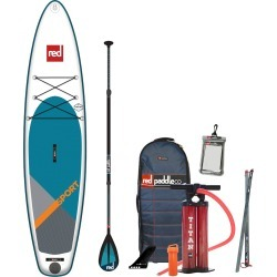 2019 Red Paddle Co. 11'3 SPORT Inflatable SUP with Carbon 100 Nylon Paddle found on Bargain Bro Philippines from CleverTraining for $1435.95