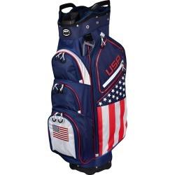 Hot-Z Golf USA Flag Cart Bag found on Bargain Bro from Rock Bottom Golf for USD $136.79
