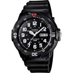 Casio- Analog Sport Watch Black/White