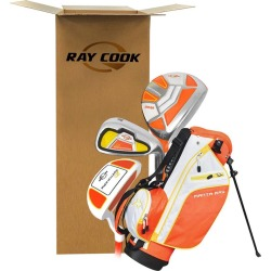 Ray Cook Golf Manta Ray 5 Piece Junior Set With Bag (Ages 3-5) Orange/Yellow *OPEN BOX* found on Bargain Bro India from Rock Bottom Golf for $65.00