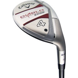 Pre-Owned Callaway Golf Diablo Edge Hybrid 21* Stiff #3 Hybrid [Callaway Stock Steel] *Value* LEFT HAND