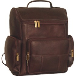 David King Leather 334 Multi Pocket Backpack found on Bargain Bro from ShoeBuy for USD $91.20