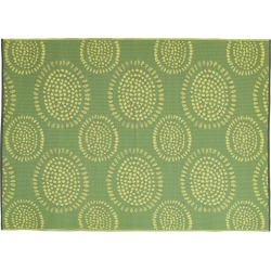 Mad Mats - Molly Reversible Indoor/Outdoor Mat - Fully Weatherproof 5' x 8' Green found on Bargain Bro Philippines from eluxury supply for $85.99