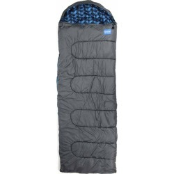 NorEast Outdoors Basecamp Sleeping Bag Grey/Teal One Size found on Bargain Bro India from Olympia Sports for $24.00